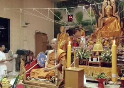 Dhamma Roaming around Fang District we do it 8 time in the Buddhist Lent period