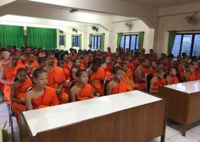 Pali education of Chiangmai province and Wat Sriboonruang Fang