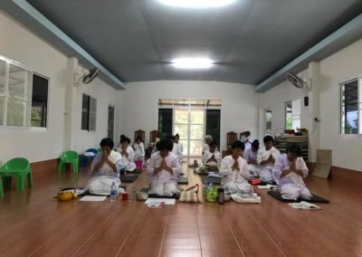 When lay people of our community have time they always come to practice and educate their mind with Vipassana at BCDC retreat Fang. Even small retreat are possible: sometimes 3 days, sometime 1 week...